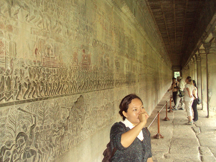 Solin at Angkor Wat